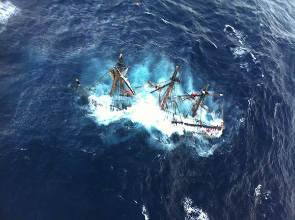 The Sinking of the HMS Bounty - Winlink - HF and VHF Radio Email For Emergencies and SHTF?rel=0