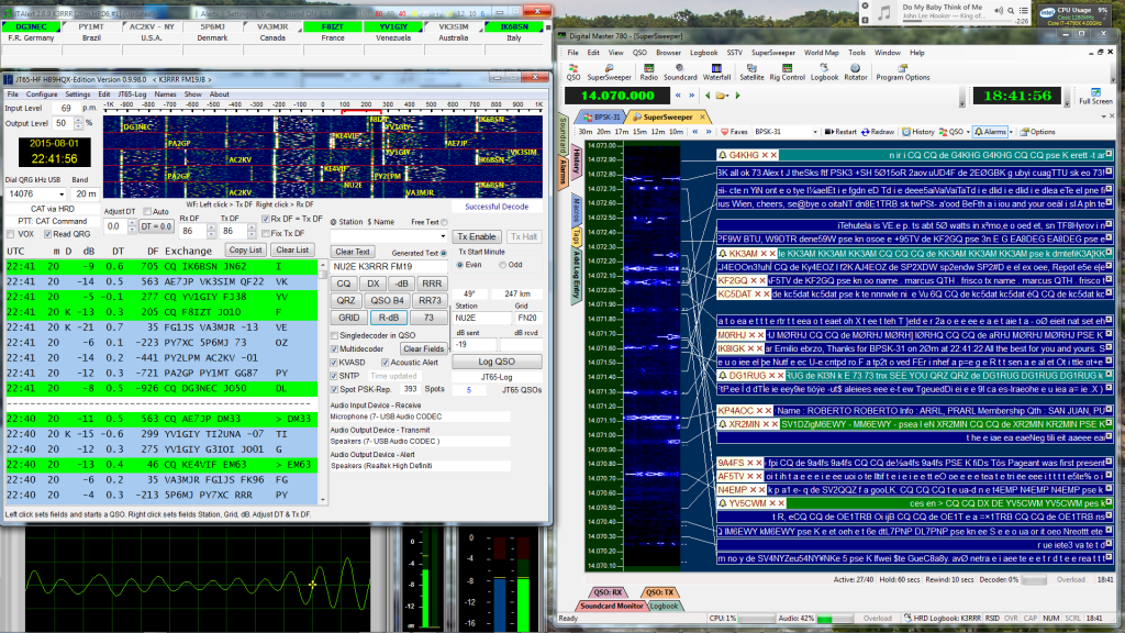 K3RRR Digital Desktop Of Ham Radio Software
