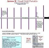 Arrow II 7 Element Portable Antenna for 70 cm 440-7BP