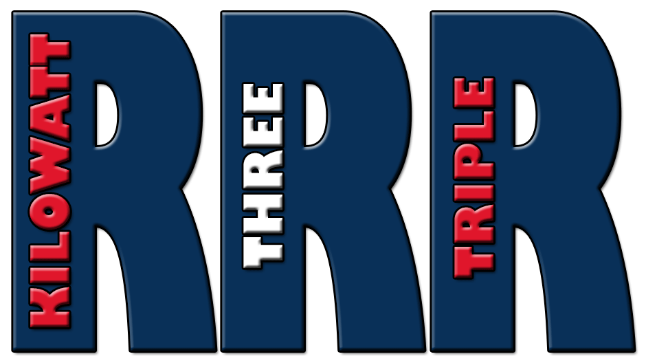 K3RRR Logo Welcome to Kilowatt Three Triple R   K3RRR