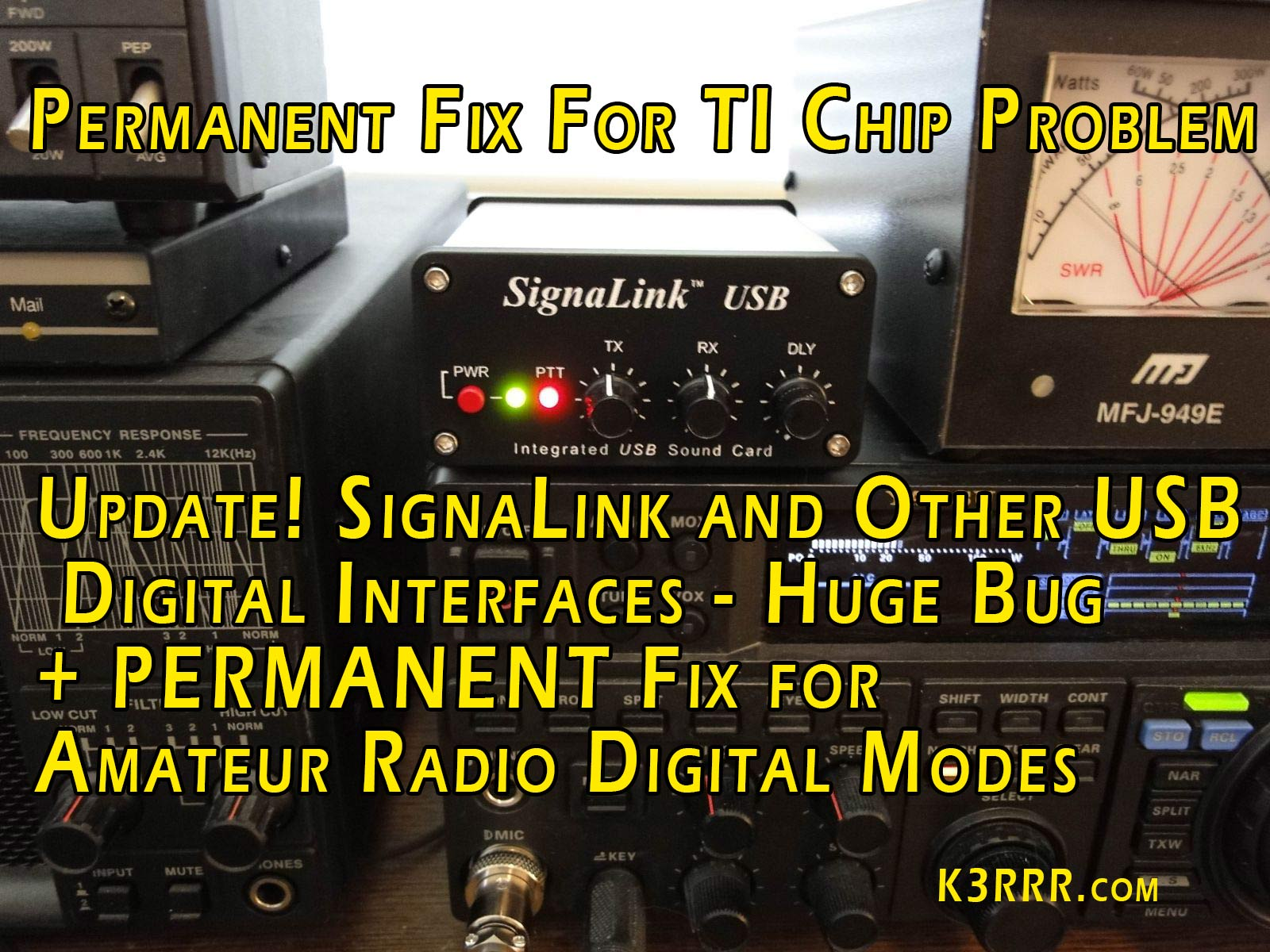 Signalink and other usb digital interfaces huge bug fix for signalink and other usb digital interfaces huge bug fix for amateur radio digital modes sciox Choice Image