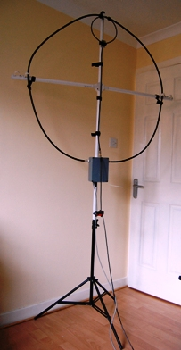 DIY Automatic Tune Magnetic Loop Antenna By GM4WZG | K3RRR