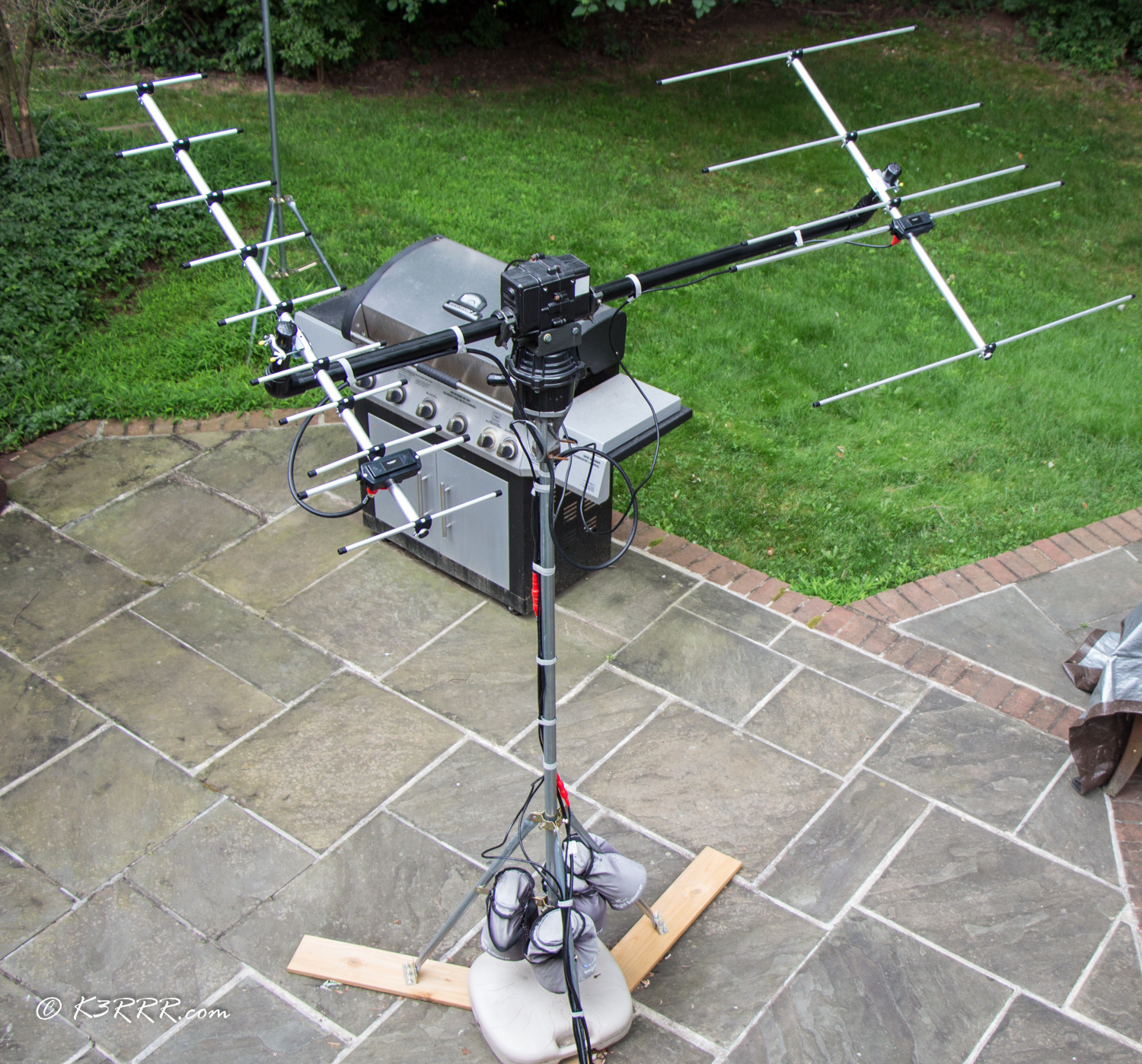 Ham Radio Satellite Antenna Dilemma In Search Of A
