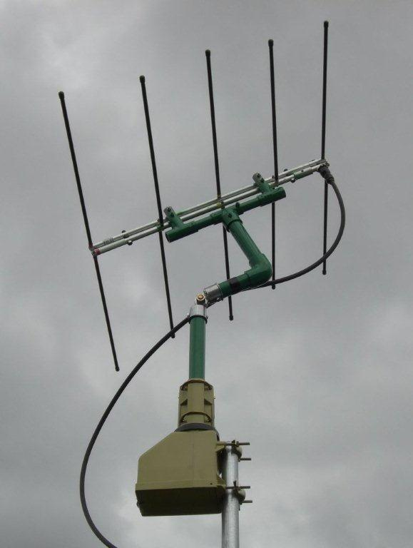 Cheap Computer Controlled TV Rotor for AMSAT Satellites