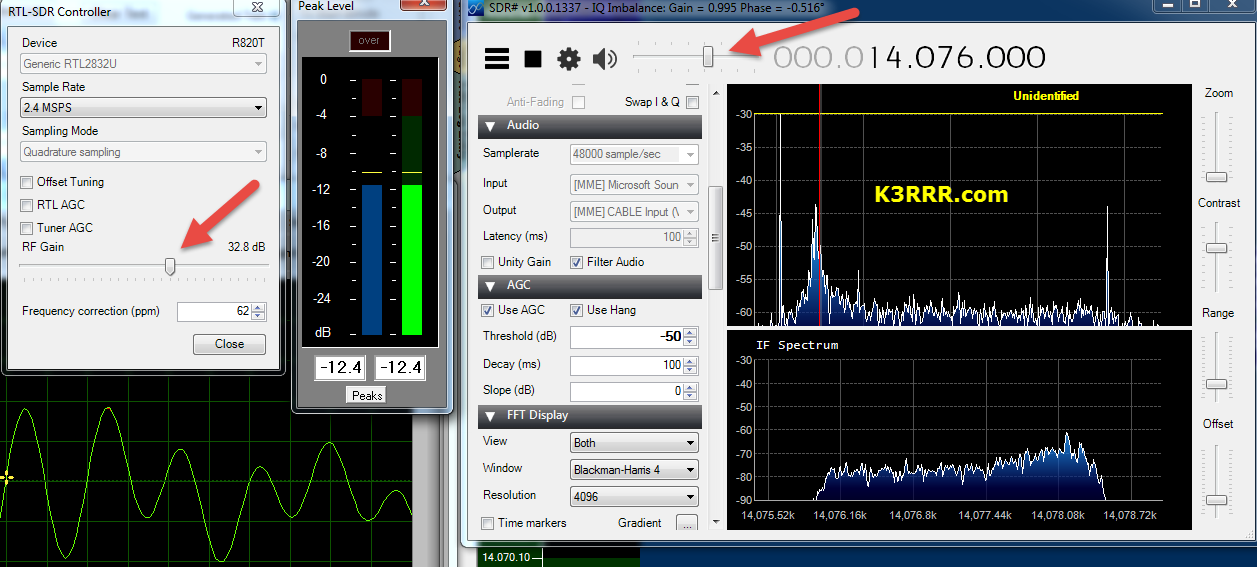 Sdr Get Maximum Decodes When Your Levels Are Right